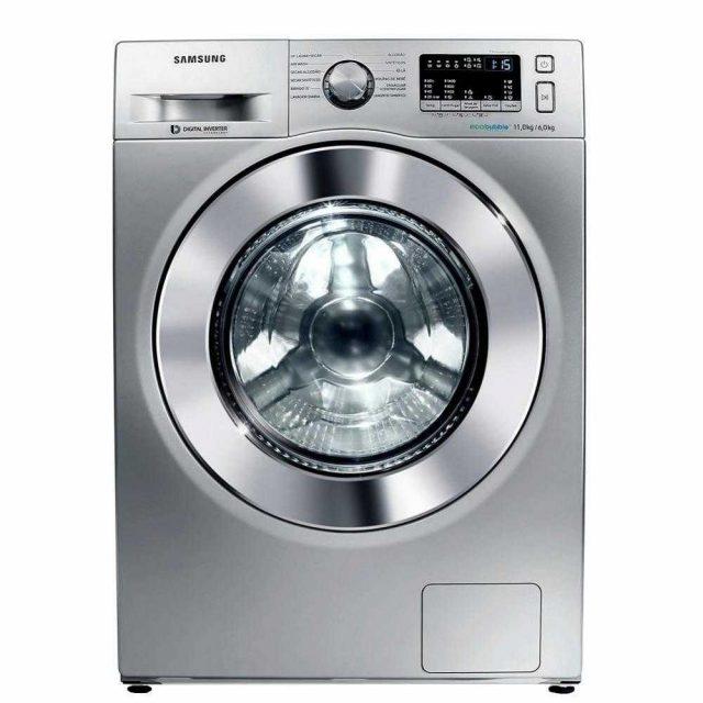 Máquina Lava e Seca Samsung 11Kg Prata