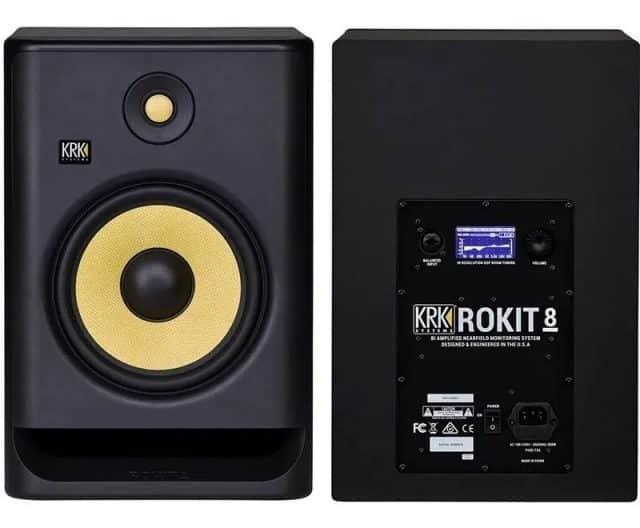 Caixa de som para monitor Krk Rokit