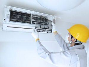 como limpar o ar condicionado