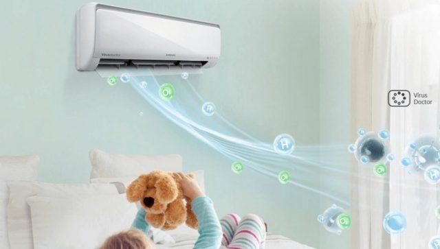 ar condicionado inverter melhorias a saúde