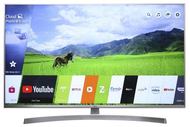 Marca Smart TV 4K LG