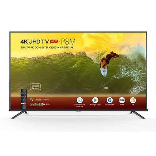 Melhor Smart TV 4K TCL 50P8M