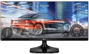 Melhor monitor gamer LG 25UM58