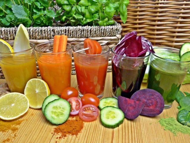 centrifuga de frutas detox
