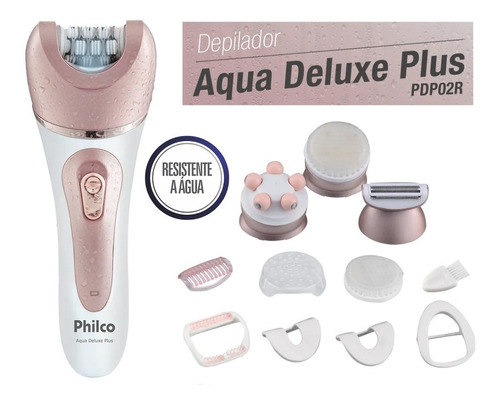 melhor depilador eletrico Philco Aqua Deluxe Plus