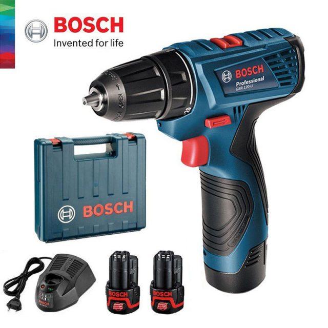 melhor parafusadeira - Bosch GSR 120-LI