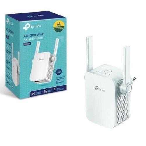 melhor repetidor de sinal WiFi TP-LINK AC1200 - RE305