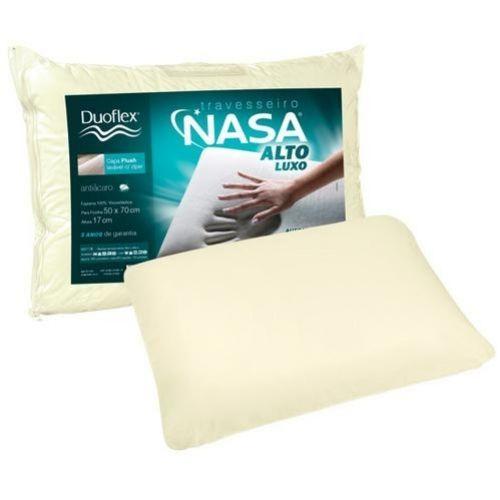Melhores Travesseiros Duoflex Travesseiro NASA Alto Luxo