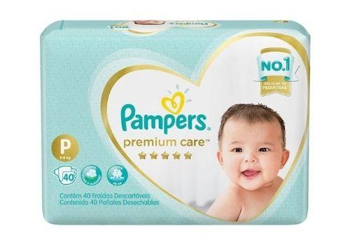Pampers Fralda Descartável Premium Care