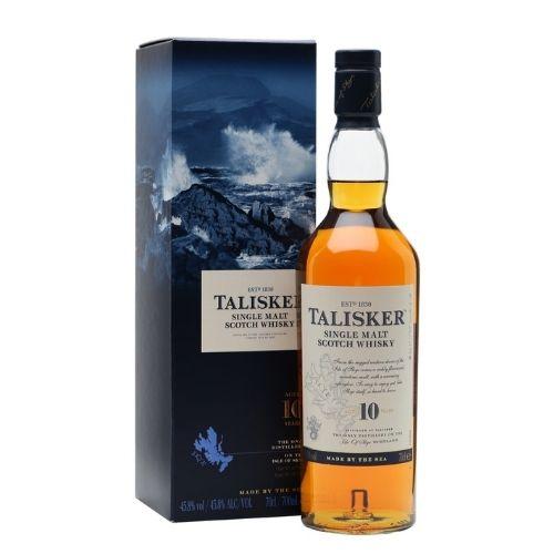 Whisky AND.Malt Talisker 10 anos 750ml
