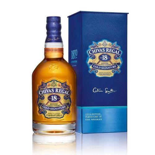 melhores whisky Chivas Regal 18