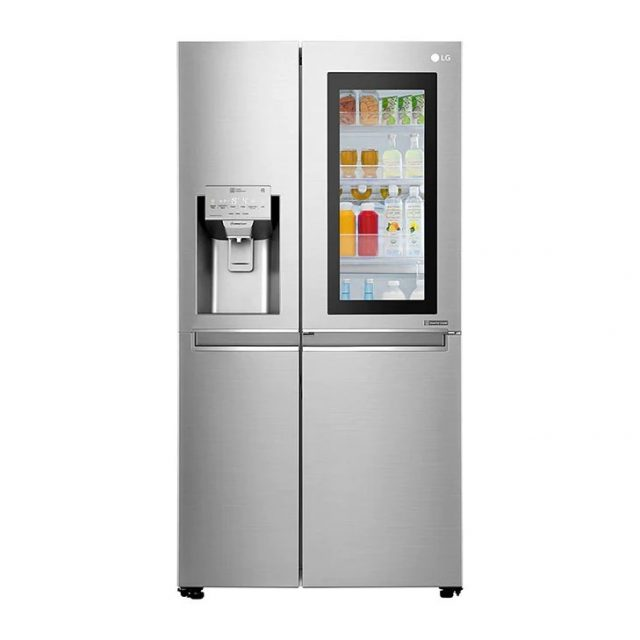 9. LG Frost Free Side by Side 601 Litros New Lancaster X247CSAV