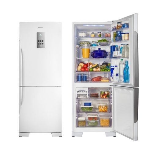 melhor geladeira inverse Panasonic Frost Free Inverter Duplex 425L