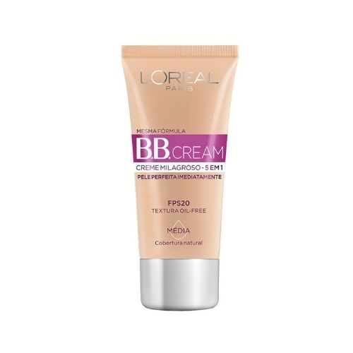 BB Cream L'Oréal Paris Dermo Expertise Base Média 30ml 5 em 1