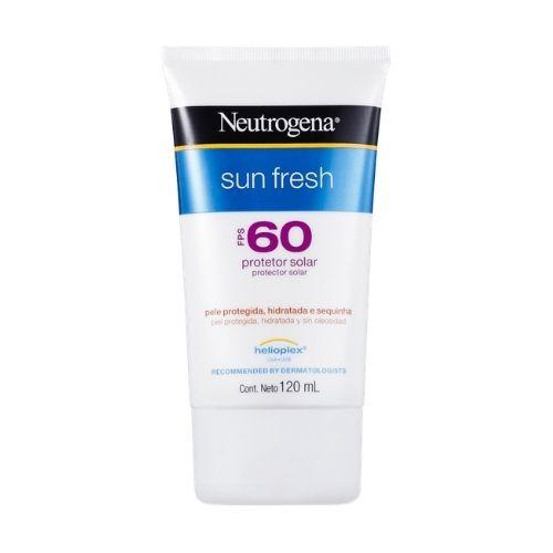 Protetor Ssolar Facial Neutrogena Sun Fresh FPS 60