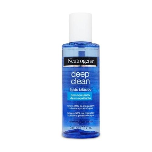 Demaquilante Bifásico Neutrogena Deep Clean Fluido