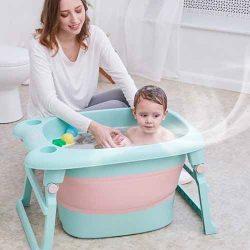melhor banheira bebe