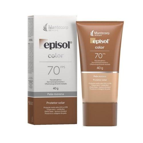 Mantecorp Skincare Episol Protetor Solar Color FPS 70