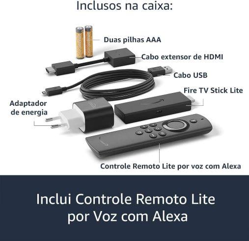 Aparelho para transformar tv em smart com Alexa